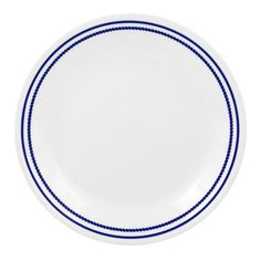 CORELLE® Livingware™ Breathtaking Blue Beads 8-1/2' Salad / Luncheon Plate