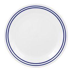CORELLE® Livingware™ Breathtaking Blue Beads 8-1/2' Salad / Luncheon Plate