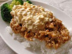 鶏ひき肉で簡単!チキン南蛮風な丼の画像