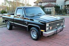 1984 Chevy C10 SWB Silverado – TEXAS TRUCKS & CLASSICS 1984 Chevy Truck, Chevy Pickup Trucks, Lifted Ford Trucks, Chevy Pickups, Chevrolet Trucks, Chevy Camaro, Gmc Trucks, Chevelle Ss, Classic Chevrolet