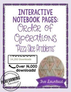Looking for a way to help your students remember AND organize order of operations? The hopscotch teaches the order, and the pizza slices show them how to organize their work. The pepperoni is the answer! Download for free now!Looking for all of the Operations & Algebraic Thinking Standards?