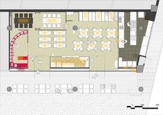 The Tastings Room by Studio SKLIM | Yatzer Restaurant Floor Plan, Deco Restaurant, Restaurant Ideas, Interior Design Institute, Interior Design Colleges, Interior Sketch, Interior Doors, Winery Tasting Room, Floor Plan Layout