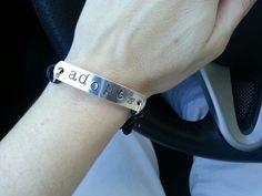 Wearing my #Adopt #Bracelet today.