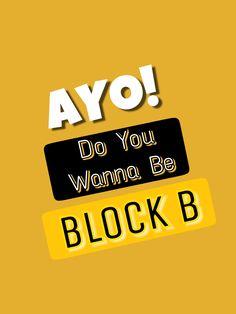 Block b's greeting