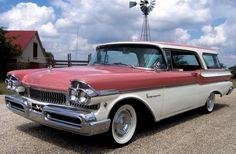 1957 Mercury Voyager station wagon