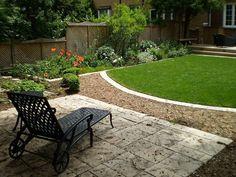 Aménagement Extérieur Cour Arrière Et Terrasse. Small Backyard  LandscapingBackyard Landscape DesignBackyard ...