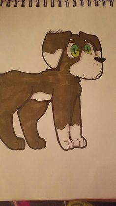 A random drawing also the pic cut out the tail ;^; Art by @AnimalzRule