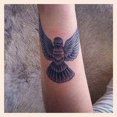 Ollie Proudlock Pigeon Tattoo