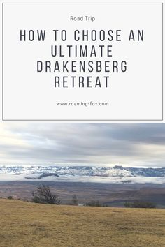 How to choose an ultimate Drakensberg retreat — Roaming Fox Travel Reviews, Travel Articles, Travel Advice, Travel Guides, Travel Tips, Dubai Things To Do, Dubai Vacation, Wildlife Safari, Photo Essay