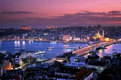 Istanbul is in both Europe and Asia. The older neighborhoods of Sultanahmet and Beyoğlu are part of Europe.