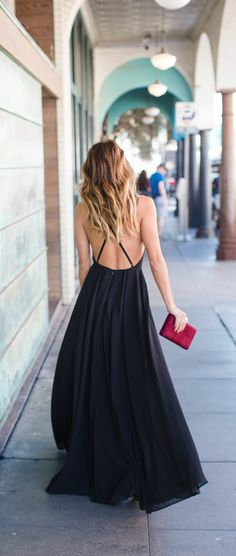 perfect dress for black tie event or bridesmaid dress
