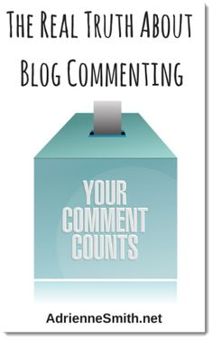 Everyone has their opinion these days about blog commenting.  Do you think you can handle the real truth about blog commenting?  Well this is my truth!