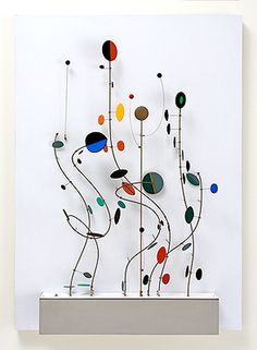 Abraham Palatnik.  Kinetic Object, 1999