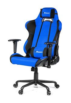 AK Racing CP Silla para Gaming color negro y blanco Gaming