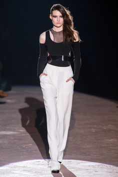 Francesco Scognamiglio Fall 2013 Ready-to-Wear Fashion Show - Maria Bradley
