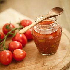 Sauce tomate plein sud 20 Min, Sauce Recipes, Salsa, Snacks, Fruit, Vegetables, Sweet, Ethnic Recipes, Food