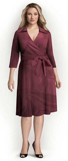 Patrones de vestidos para gala styletowoman.ru línea con cuello