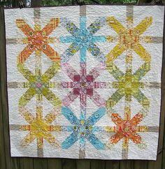 supernova quilt along