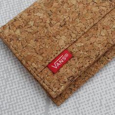 product, wallets, vans, cork wallet, van authent, style, van cork, corks, bifold wallet