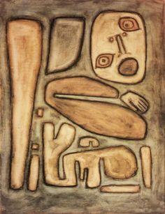 ¤ Paul Klee, Outburst of Fear