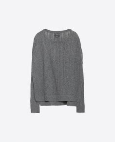 Image 8 of OPEN WORK SWEATER from Zara