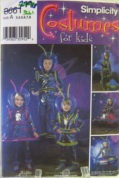 Simplicity 3661 Child's Costume
