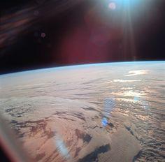 Earth, all shiny