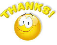 Now you can say THANKS to your dear and near ones with an interesting way i.e., by using below smileys with Thanks message. These smileys a...