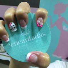 Uñas bicicleta Cute Nails, Pretty Nails, Spring Nails, Nail Designs, Polish, Nail Art, Beauty, Designed Nails, Polish Nails