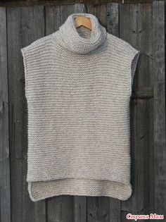 Knitting Stiches, Loom Knitting, Knitting Patterns Free, Baby Sweater Patterns, Knit Vest Pattern, Knit Fashion, Fashion Sewing, Sewing Dresses For Women, Knitting Dolls Clothes
