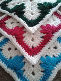 Leaf+Stitch+Granny+Square+Pattern+A.K.A.+by+CrochetByJyneffer,+$4.99