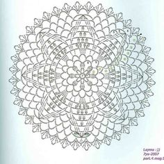 Risultati immagini per diagramme filet crochet Filet Crochet, Mandala Au Crochet, Crochet Stitches Chart, Irish Crochet Patterns, Crochet Circles, Crochet Doily Patterns, Crochet Doilies, Crochet Flowers, Crochet Square Blanket