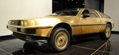 A gold-plated DeLorean,1 of only 3 made,turned up in a dusty garage in the US after going missing for years.24-carat version of the legendary car dropped out of sight after made in early 1980s at DeLorean factory in Dunmurry on outskirts of Belfast.Other 2 known to be in museums in US, 1 in Los Angeles & 1 in Nevada,with this 3rd example – which has just 642 miles on the clock – the only 1 in private hands.