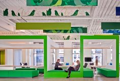 Is Open Office Design Suitable for your Boston Metro Business? Open Office, Cool Office, Office Ideas, Office Decor, Top Interior Designers, Office Interior Design, Office Designs, Architecture Restaurant, Interior Architecture