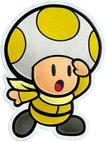 Rescue V Yellow - Paper Mario: Color Splash