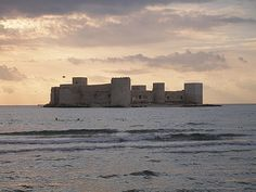 Kizkalesi Castle in Turkey..this castle sits on its own island..