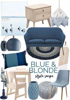blue and blonde decorating ideas from the life creative Condo Design, Interior Design, New Hampton, Coastal Style, Modern Coastal, Hamptons House, Home Decor Trends, Country Chic, Kids Decor