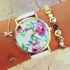 Bracelets & watch from www.gogolush.com