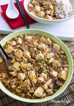 사천 마파 두부 만들기, 마파 두부 레시피, 중국 요리,두부 요리,