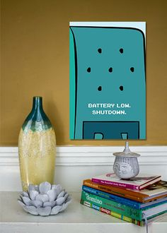 BMO+//+Adventure+Time+Minimalist+Quote+Poster+//+by+TheGeekerie,+$18.00