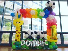 Rainbow Balloon Photo Frame