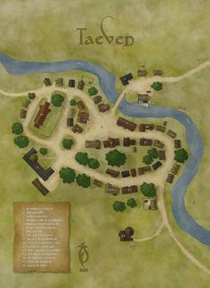 Taeven by Arsheesh on Cartographer's Guild