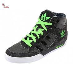 Adidas HARDCOURT HI Chaussures Mode Sneakers Homme Denim Jeans Noir Adidas T:40 - Chaussures adidas (*Partner-Link)