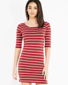 5/23/16   Brand/Designer: Wet Seal Season: Fall Print: Striped Print Material: Knit Dress Silhouette: Bodycon Embellishments: Stretchy