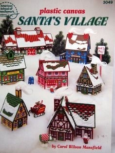 Hey, I found this really awesome Etsy listing at https://www.etsy.com/uk/listing/261490355/santas-village-by-carol-wilson-mansfield