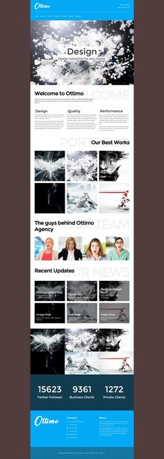 Ottimo is a creative WordPress Business Theme with a responsive Layout and much more features.