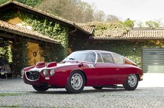 Zagato, absolutely gorgeous. Classic, simple styling.
