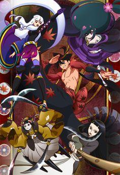 Katanagatari Series Togame Character Yasuri Shichika Character