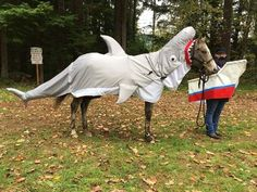 Catch of the Day! Because most of the costume contests in which we participate are outside in the rainy Pacific Northwest, I elected to create my costume out of fabric and