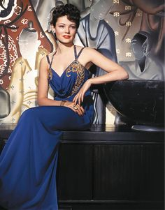 "Gene Tierney in Shanghai Gesture (1941). A film noir starring Gene Tierney and Walter Huston, with Victor Mature and Ona Munson.  Good movie but I still prefer her in ""Laura""."